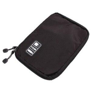 Image 4 - جديد العالمي المنظمون الإلكترونية السفر حقيبة التخزين ل الحبل USB كابلات فلاش حملة سماعة قوة البنك