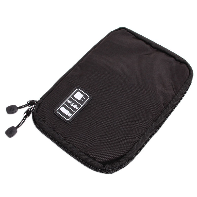 Image 4 - New Universal Electronic Organizers Travel Storage Bag for Cord USB Cables Flash Drive Earphone Power Bank-in Storage Bags from Home & Garden