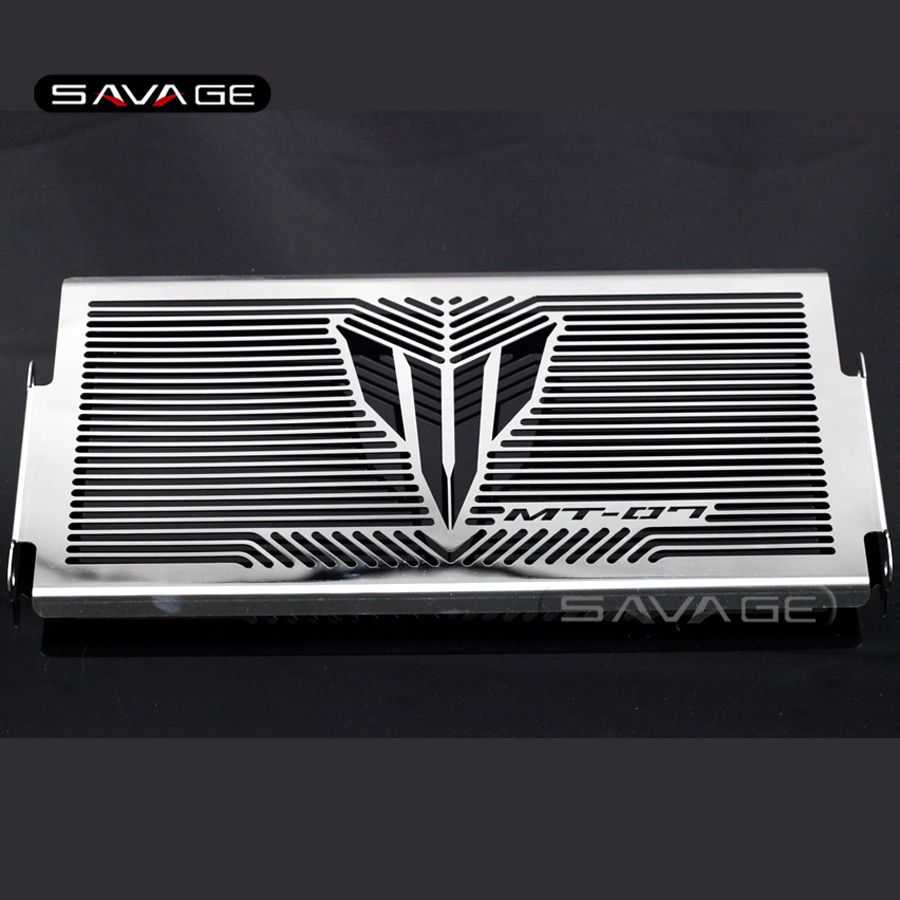 For YAMAHA MT07 MT-07 FZ-07 2014 2015 2016 Motorcycle Accessories Radiator Grille Guard Cover Protector Fuel Tank Protection Net high quality motorcycle radiator grille guard cover protector for yamaha mt 09 fz 09 fj 09 mt fz fj 09 2013 2014 2015 2016