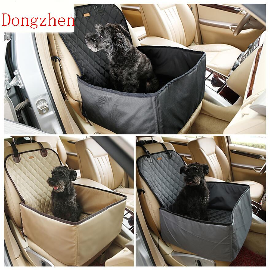 dongzhen auto car pet cover box waterproof dog bag carry storage seat cover for travel 2 in 1. Black Bedroom Furniture Sets. Home Design Ideas