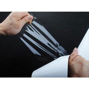 Image 4 - ドロップシッピング 10x300 センチメートル pvc 保護フィルム車のバンパーフッド保護ステッカーアンチスクラッチクリ透明フィルム