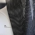 50 СМ * 150 СМ модельер ткань черный 3D сетка Решетки сетки ткань высокая прочность высокая прочность перспектива неупругого