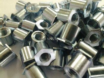 TSOA-440-125  Thin head  threaded  standoffs,  aluminum 6061,nature ,PEM standard,in stock, Made in china,