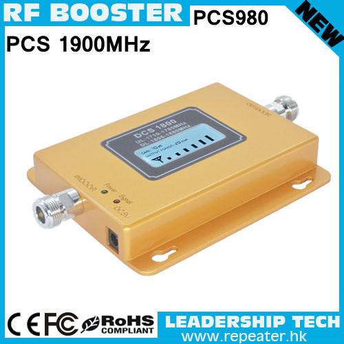 Free Shipping Wholesale RF PCS980 1900mhz 3G LCD Display Cellular Mobile/cell Phone Signal Repeater Booster Amplifier Detector