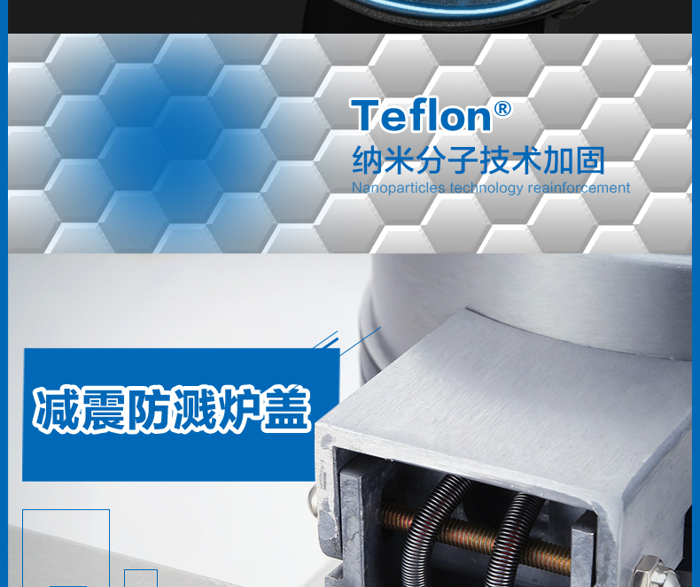 Waffle Oven Commercial Muffin Electric Baking Pan Waffle Machine Cake Machine Lattice Cake Machine Omelet Machine MG-730 10