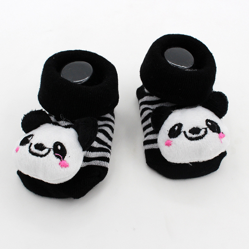 Cute Animal Cotton Baby Socks For Newborns Baby Girl Boy Gift Anti Slip With Rubber Soles For Child Boy Girl Free Shipping