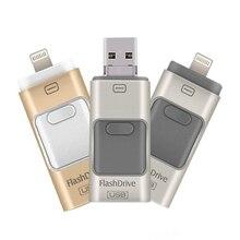 2017 For iPhone 6 6s Plus 5 5S ipad Pen drive memory stick Dual mobile OTG Micro USB Flash Drive 16GB 32GB 64GB PENDRIVE