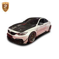 Carbon Fiber Hood Cover Engine Bonnet Cover For M3 M4 F82 F80 Car Modification Accessories Car Styling