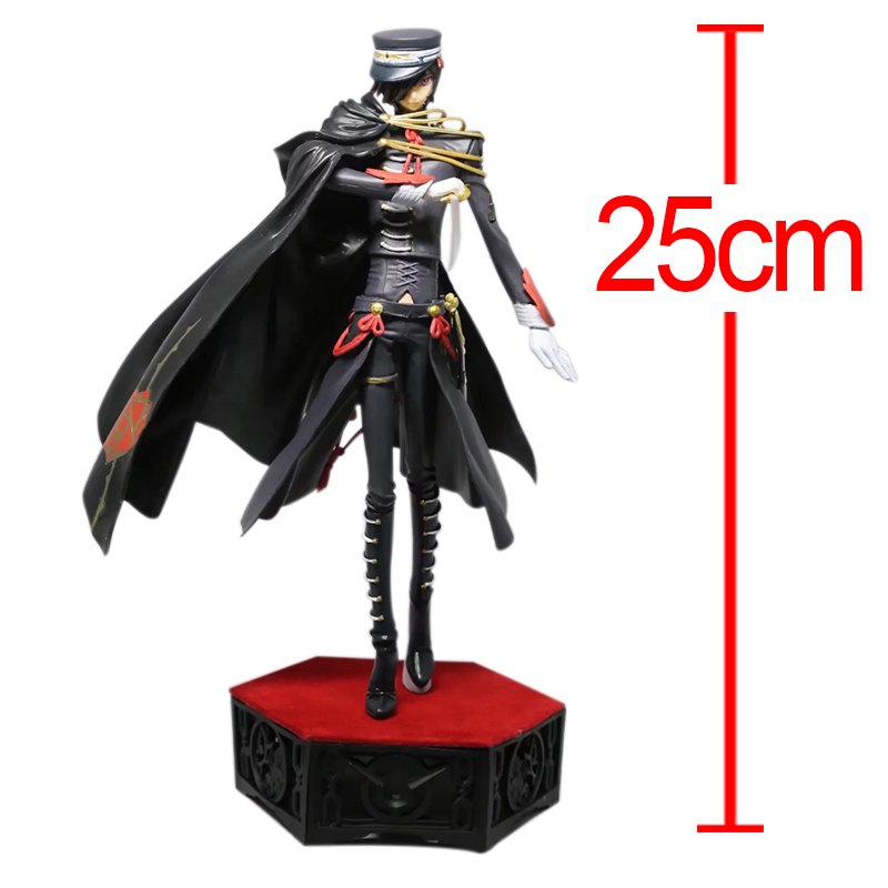 Amine Code Geass Lelouch of the Rebellion Lelouch Lamperouge PVC Action Figure Figuras Brinquedos Model Toy collection anime cartoon code geass lelouch cc nunnally mini pvc action figure collectible model toy gift 5 6cm 9pcs set kt431