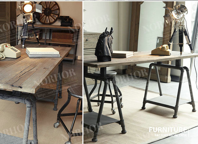 Th français forgé conceptions de fer faire le vieux bois de style