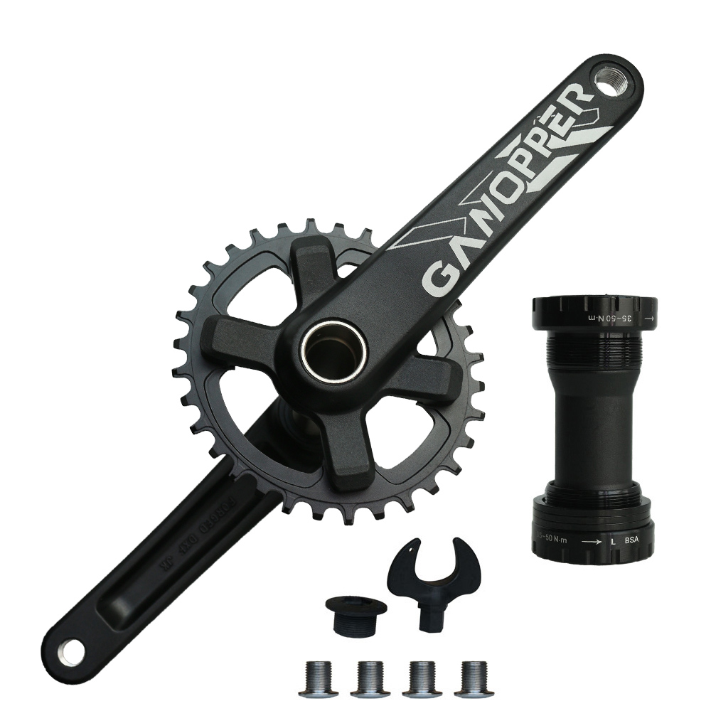 175mm 1X 2X System Single Speed <font><b>Crankset</b></font> Chainwheel 30T 32T 34T 36T 11s 7075 Alu Fit for <font><b>SHIMANO</b></font> XT <font><b>SLX</b></font> DEORE <font><b>M7000</b></font> M8000 Crank image