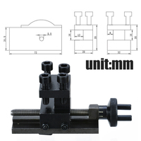 Mini 30 Degree Rotatable Lathe Tool Holder S N 10154 Lathe Tool Holder For SIEG C0