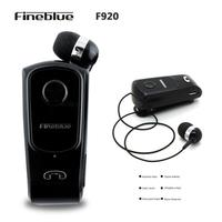 Fineblue F920 Wireless Bluetooth 4 0 Headset Earphone With Clip USB Charge Calls Remind Vibration Auriculares