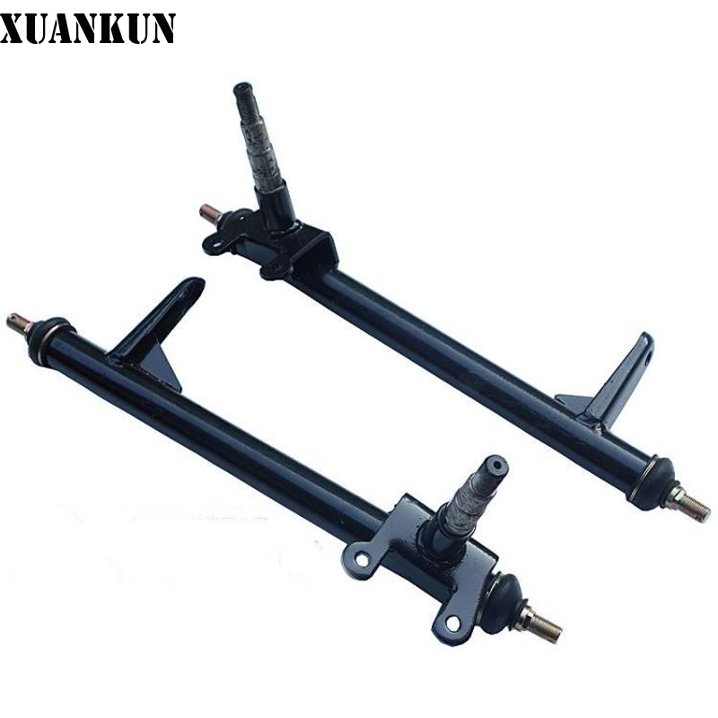 XUANKUN  150CC Karting Motorcycle Modified Tricycle Karting Accessories Front Wheel Steering Knuckle Angle Knuckle цена и фото