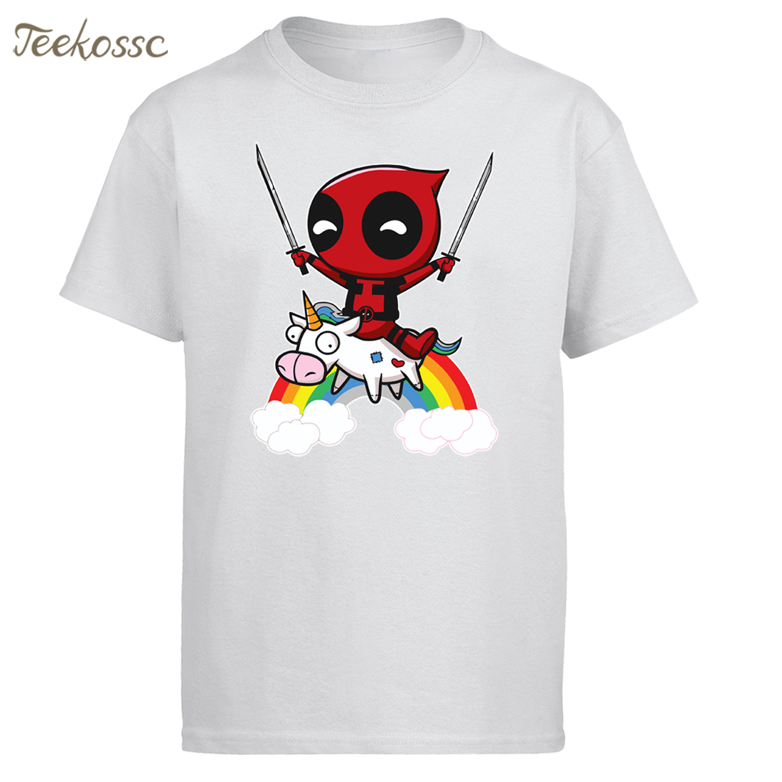 Deadpool Men T Shirt Funny Tshirt 2018 New Brand Summer Tops Tee Mens T Shirts Cotton Dead Pool T-Shirt Camiseta Homme