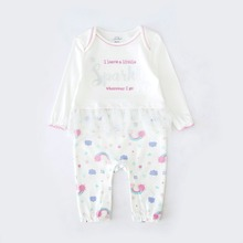 Tender Babies Baby Girl Clothing Born to sparkle all in one with glitter spot tu skirt
