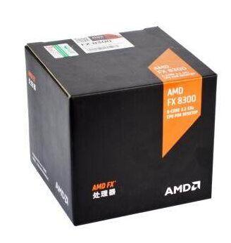 FX AMD FX-Series FX-8300 התאגרף 8300 אוקטה Core AM3 + מעבד חזק יותר FX8300 FX 8300 100% עבודה מעבד שולחן עבודה כמו שצריך