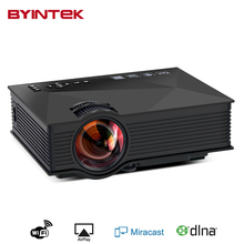 BYINTEK BT460 Home Theater Mini Portable gM60 HD 1080P HDMI uNIc uC46LCD Mobile WIFI LED Projector Proyector Beamer For Iphone