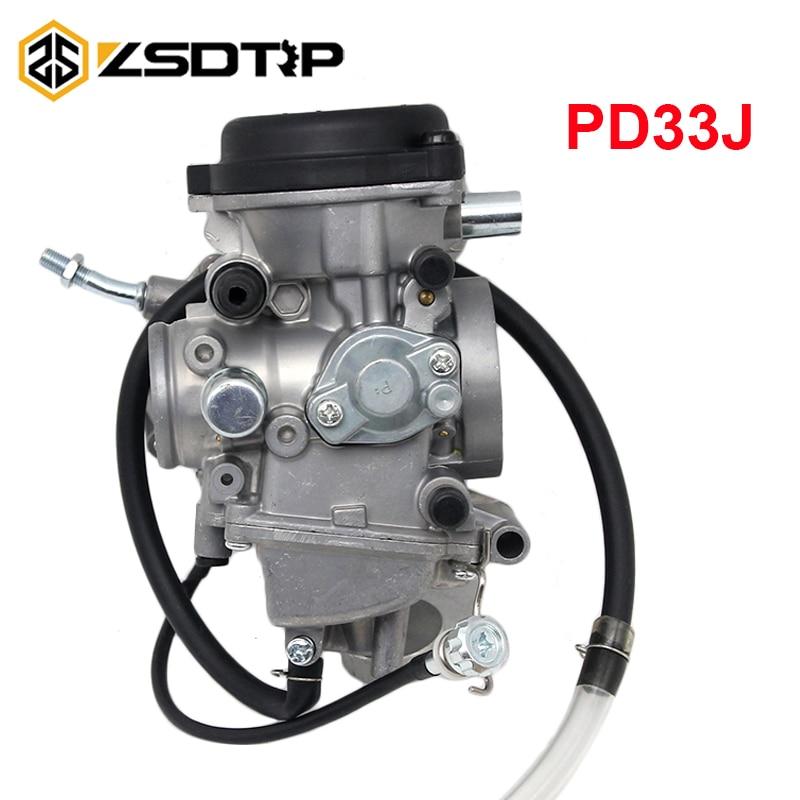 ZSDTRP PD33J 33mm Motorcycle Carburetor For YAMAHA KODIAK 450 YFM450 4X4 2003 2005 BRUIN 350 2WD