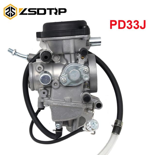ZSDTRP PD33J 33mm Motorcycle Carburetor For YAMAHA KODIAK 450 YFM450 4X4 2003 2005 BRUIN 350 2WD 4X4 Carb Motorcycle Accessories