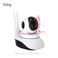 Yalxg HD Wifi Ip Security Home P2p Network Camera Smart Mini Baby Monitor Two Way Audio