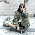 Women Jacket 2016 New Arrival Spring Female Army Green Printing Camouflage Jacket Chaquetas Mujer Fall Jackets For Women Coat