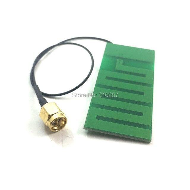 """1 יחידות 2.4 Ghz Wifi אנטנה הפנימית Pcb אנטנת רווח גבוה 6dbi Omni 1.13 כבל 20 ס""""מ"""