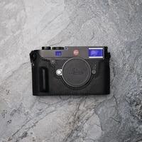 Mr.stone Brand Genuine Leather Handmade Camera Case For Leica M10 Bag Half Body Bottom Cover