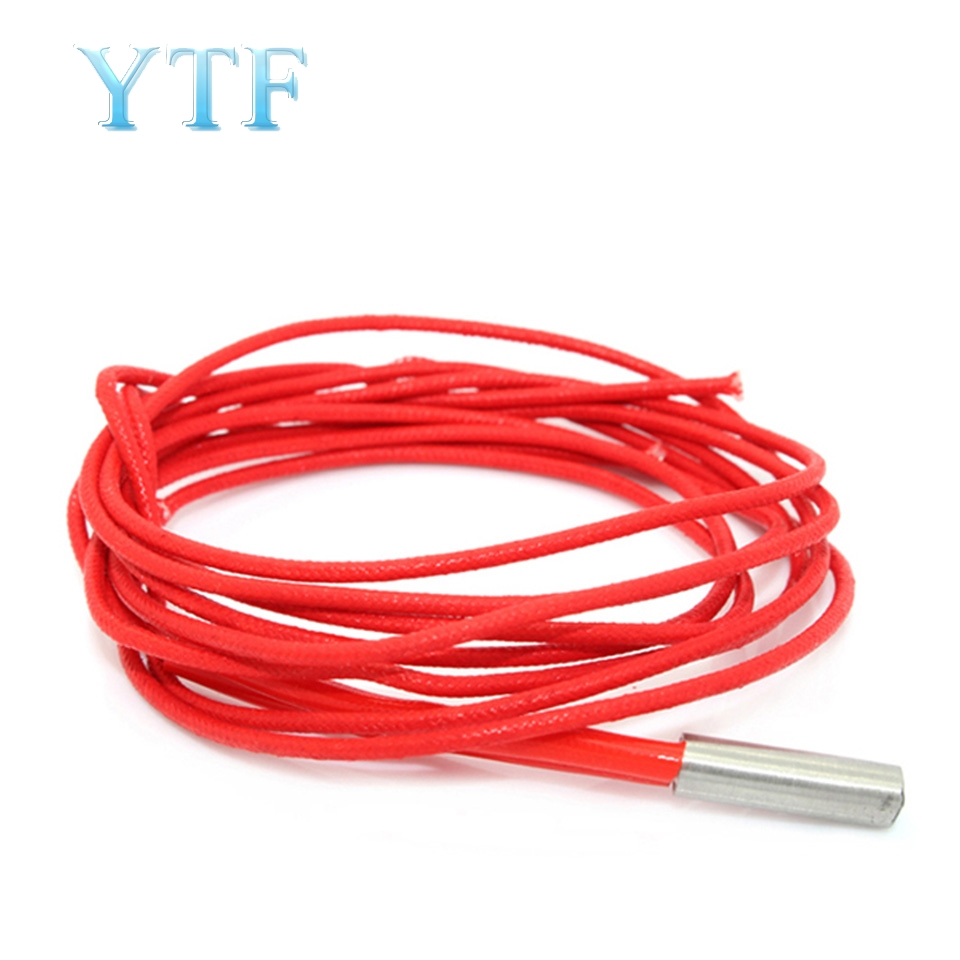 Hot-selling 3D Printer Parts 6x20 Single-head Electric Heating Pipe Heating Tube Heating Rod 12V 40W 24V 40W