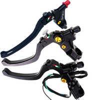 "Motorcycle Cable Clutch Lever Perch Brake Lever 7/8"" 22mm For Honda Yamaha Kawasaki Suzuki Hpk Dirt Bike Motorcross Atv Or More"