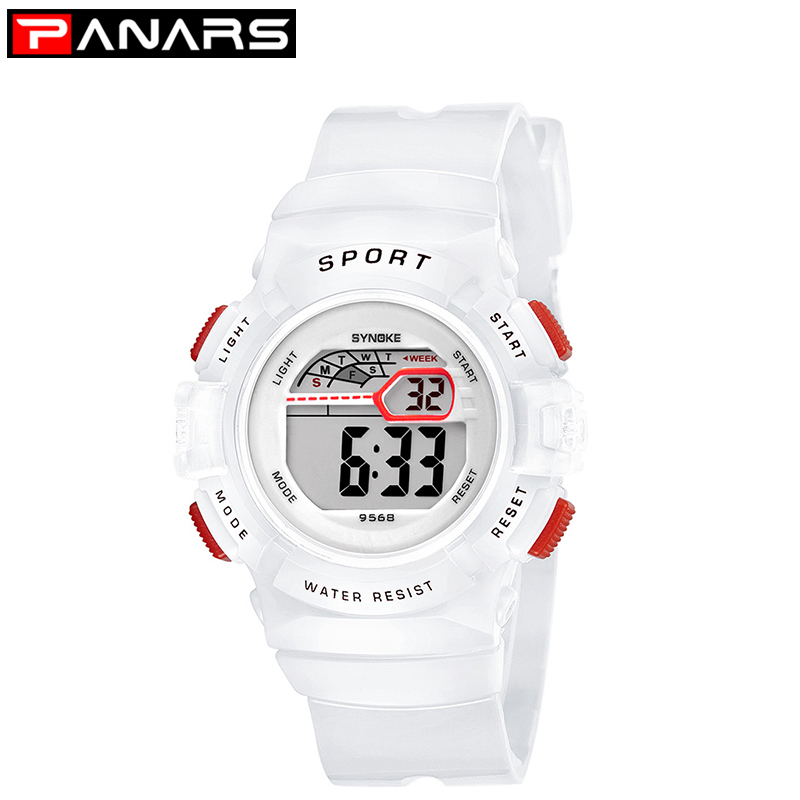 PANARS Sport Children Student Watch Kids Boys Girls Watches Child Clock LED Digital Wristwatch Electronic Wrist Watch Fashion