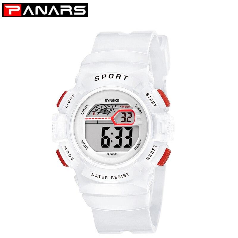 PANARS Sport Children Student Watch Kids Boys Girls Watches Child Clock LED Digital Wristwatch Electronic Wrist Watch Fashion