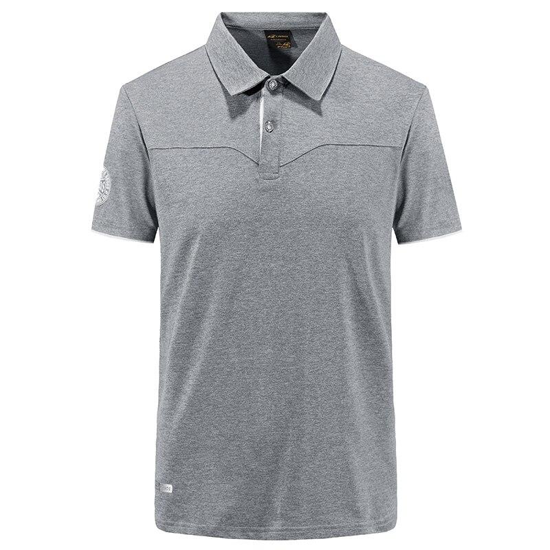Summer Mens Outdoor Quick Dry Soccer Golf Polo Shirt Short Sleeve Sport Camping Hiking T-shirt Fitness Climbing Running T-shirts