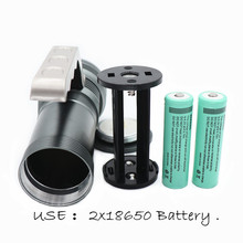 Rechargeable LED Flashlight 6000LM XML-T6 Torch outdoors Camping Fishing Hunting handed lamp Portable light