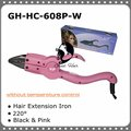 Free Shipping Loof Temperature Constant Fusion Hair Extension Iron GH-HC608P-W Pink