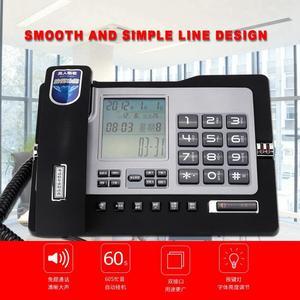 Image 5 - G026 Simple Style Fixed Telephone Landline Desk Phone for Home Office Desktop Telefono Fijo Portable