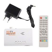 HDMI HD 1080 P Без VGA Версия DVB-T2 TV Box А. В. CVBS тюнер Приемник Дистанционного Управления Совместим С ЭЛТ-и ЖК-ЕС Plug(China (Mainland))