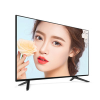 Wholesale OEM 32 43 50 55 inch 4k Full HD android Smart TV T2 global version led television TV