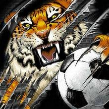 soccer  tiger ile ilgili görsel sonucu