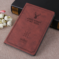 Smart Wake Leather Case For Apple IPad 2 3 4 Luxury Cover Deer Style Flip Stand