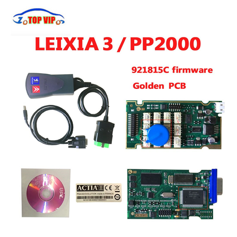 Best Price Newest Lexia3 PP2000 V7.83 Firmware 92185C Auto Lexia 3 pp2000 Scan Tool diagnostic Scanner for C-itroen & P-eugeot