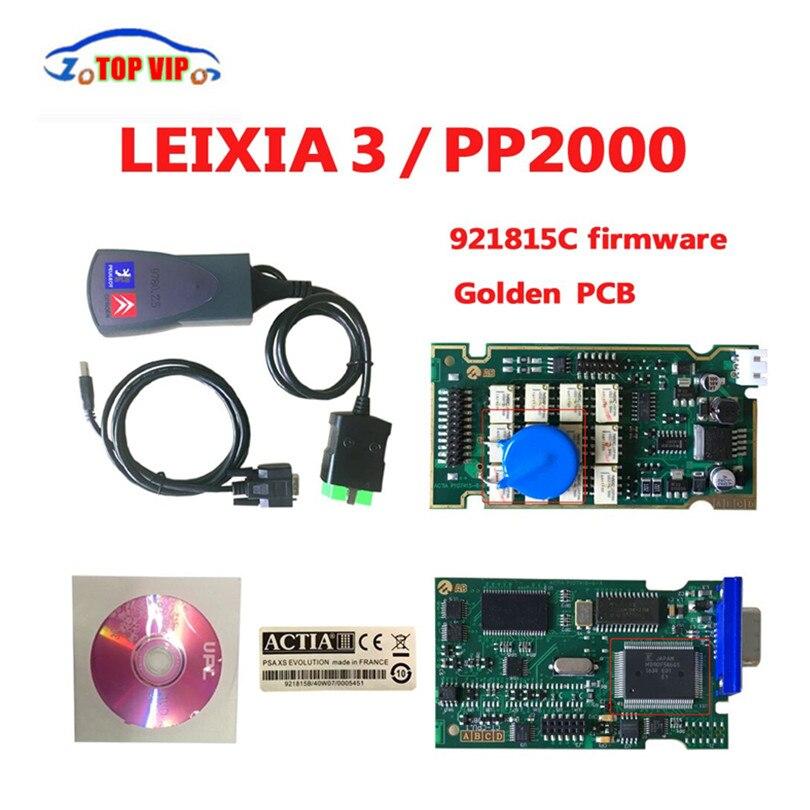 imágenes para Mejor Precio V7.83 Firmware 92185C Escáner Lexia3 PP2000 Lexia3 V48 pp2000 obd herramienta de diagnóstico Para C itroen P p-eugeot Envío Gratis