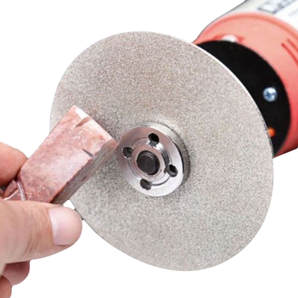 CNBTR 6 Inch 150mm Diamond Coated Grinding Wheel 80-400 Grit  Lapidary Polishing Disk Single Side Polishing Grinding Disc
