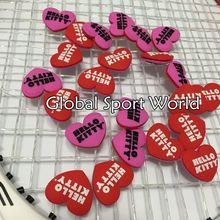 10 pcs Hello Kitty Tennis Racket Damper Shock Absorber to Reduce Tenis Racquet Vibration Dampeners raqueta