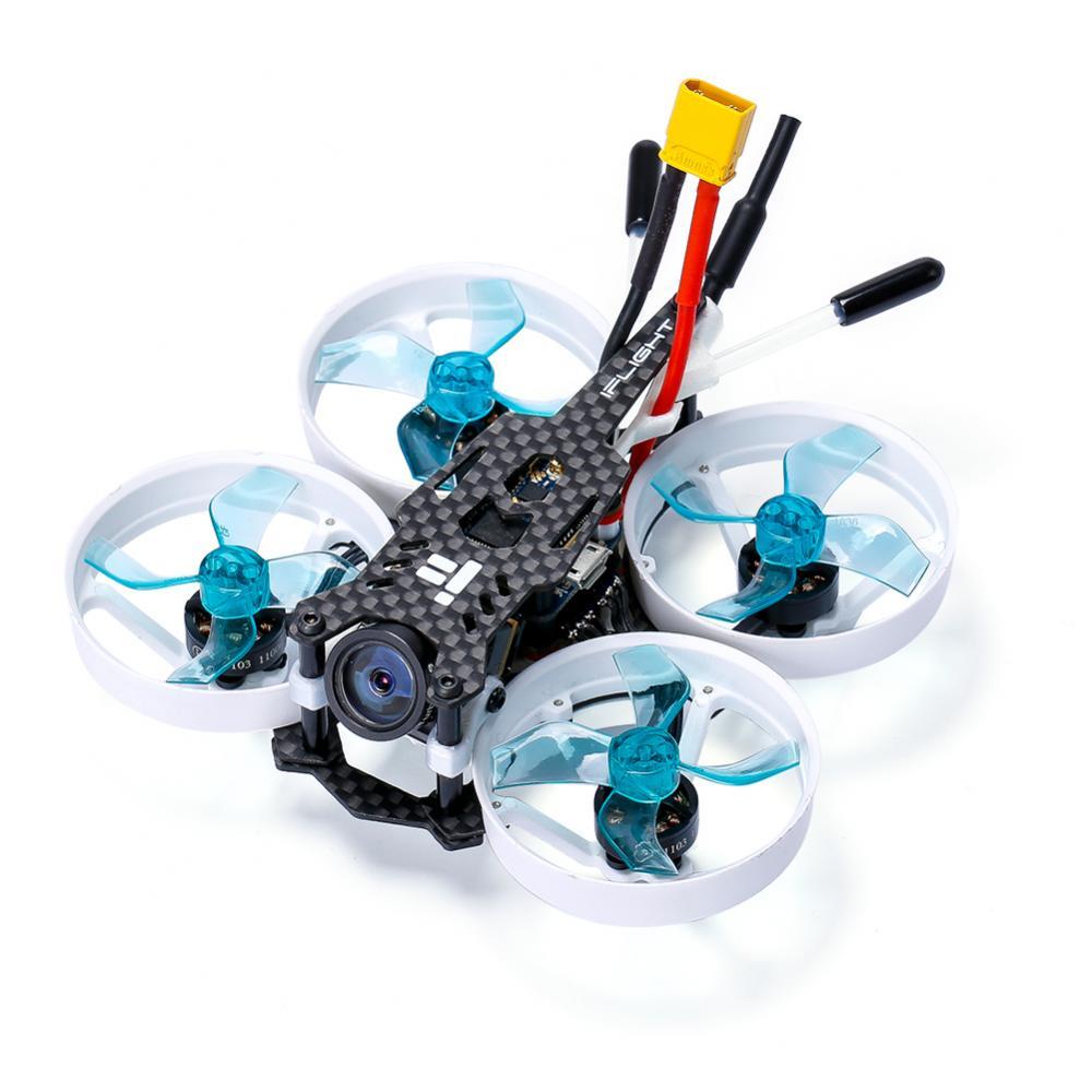 Oyuncaklar ve Hobi Ürünleri'ten Parçalar ve Aksesuarlar'de IFlight CineBee 75HD 2 S Whoop RC FPV Yarış Drone W/SucceX Mikro F4 12A 200 mW Kaplumbağa V2 HD PNP BNF Tiny Whoop'da  Grup 1