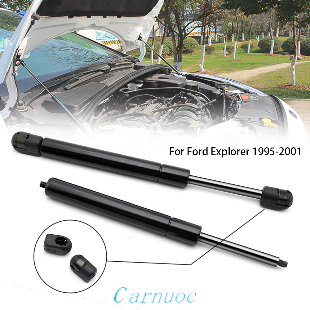 Pair For Ford Explorer 1995-2001 Front Hood Gas Spring Lift Support Strut Shock