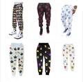 Envío Libre 2016 de impresión 3d 100 Cien puntos emoji Joggers pantalones pantalones cara de la sonrisa mujeres hombres ocasional flojo lindo de la historieta