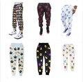 Free Shipping 2016 3d print 100 Hundred points emoji Joggers pants smile face pants women men casual loose cute cartoon