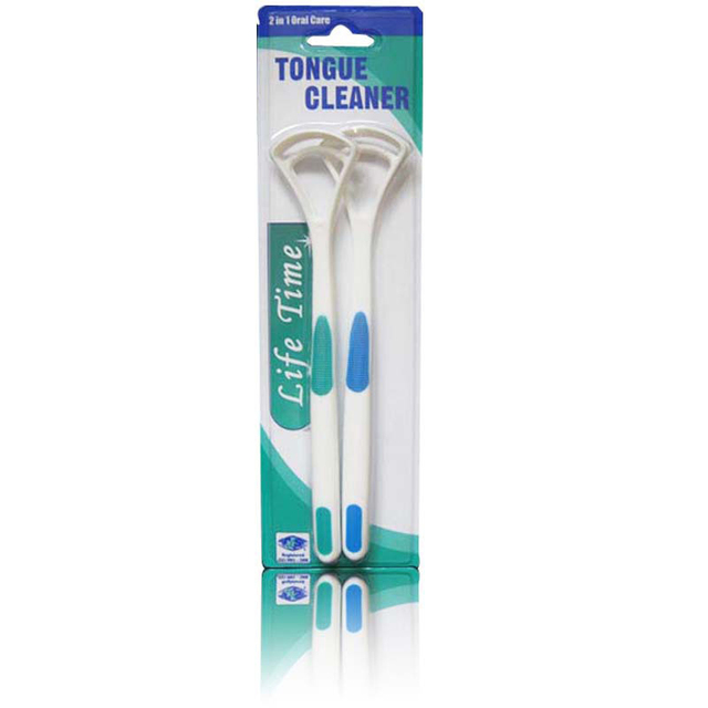 2Pcs Tongue Brush Tongue Cleaner Scraper Cleaning Tongue Scraper For Oral Care Keep Fresh Breath Dental Care Tongue Clean Tool