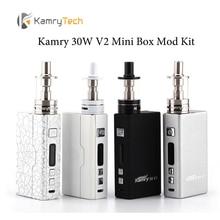 ต้นฉบับKamry 30วัตต์V2มินิกล่องสมัยชุดเริ่มต้นบุหรี่อิเล็กทรอนิกส์CigอีVape VV VW Vapeมดชุดบุหรี่อิเล็กทรอนิกส์ที่มีเครื่องฉีดน้ำ